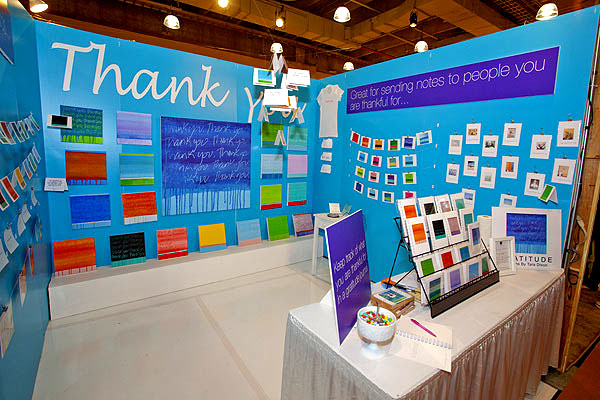 tradeshow booth wall color