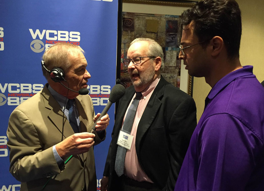 Lloyd Stone interviewed by Joe Connolly at WCBS