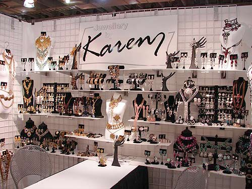 Jewelry Exhibition Booth Design : Manny stone decorators portfolio of our trade show booth