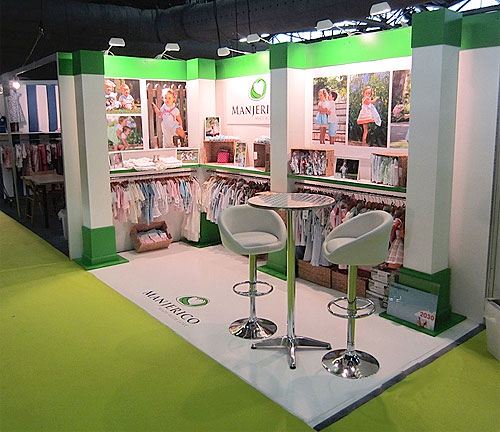 trade show booth designed and built by Manny Stone Decorators