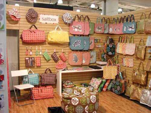 Saltbox trade show display by Manny Stone Decorators