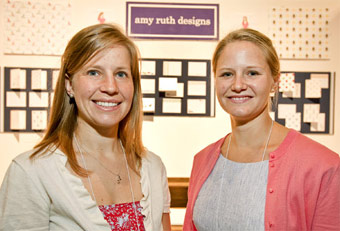 Amy Ruth Designs trade show booth designed by Manny Stone Decorators