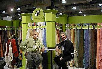 Bedford Cottage trade show booth by Manny Stone Decorators