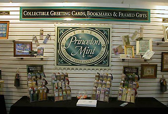 Princeton Mint trade show display by Manny Stone Decorators