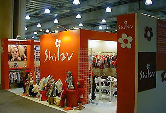 Shilav trade show booth by Manny Stone Decorators