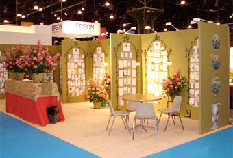 Manny Stone Decorators at the 2007 Stationery Show