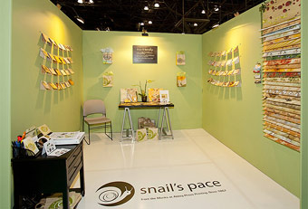 trade show booths for the Stationery Show designed by Manny Stone Decorators