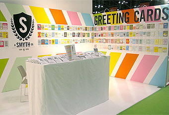 Stationery Show trade show booths designed by Manny Stone Decorators