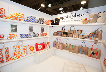 NY NOW trade show booths designed by Manny Stone Decorators